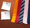Set   Ties Royalty Free Stock Images