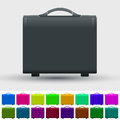 Set of travel suitcases vector illustration Stock Photo