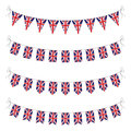 Set of uk bunting a Stock Photography