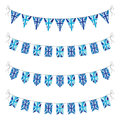 Set of uk bunting a Stock Photo
