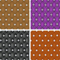 Set of   upholstery seamless pattern. Stock Photo