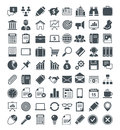 Set of usefull icons vector pictograms vector signs Royalty Free Stock Image