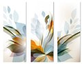 Set of vector abstract colorful backgrounds for design Royalty Free Stock Photo