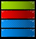 Set of vector banners Royalty Free Stock Image