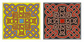 Set of vector celtic design elements Royalty Free Stock Photos
