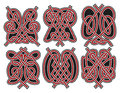 Set of vector celtic design elements Royalty Free Stock Photo