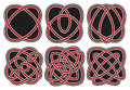 Set of vector celtic design elements Royalty Free Stock Image
