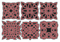 Set of vector celtic design elements Stock Images