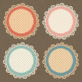 Set of vector doodle frames can be used for decoration photos scrapbooking web project template for invitations etc Stock Photos