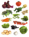 Set of vegetables Royalty Free Stock Photos