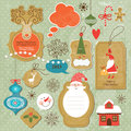 Set Of Vintage Christmas And N...