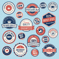 Set of vintage labels and stickers for sale Royalty Free Stock Photography