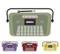 Set of Vintage Old Radio Royalty Free Stock Photo