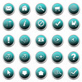 Set of web buttons Stock Photos