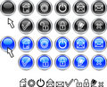 Set of web icons. Stock Images