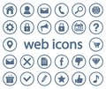 Web icons. Vector illustration