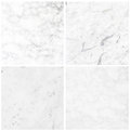 Set of white marble texture background high resolution Royalty Free Stock Image