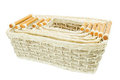 Set of  Wicker  baskets Stock Photography
