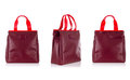 Set of woman bags isolated on the white Royalty Free Stock Photography