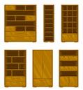 Set of wooden furniture