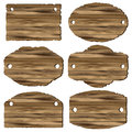 A set of wooden planks Stock Photo