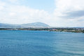 Sevan lake and mountains in armenia Royalty Free Stock Photos
