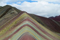 Seven colour mountain in Peru