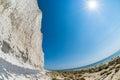 Seven Sisters Cliffs Fisheye