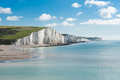 Seven Sisters National park, England Royalty Free Stock Photo