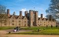 Sevenoaks Old english mansion 15th century. Classic english country side house. UK Royalty Free Stock Photo
