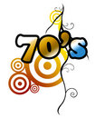 seventies Royalty Free Stock Photo