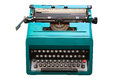 Seventies Typewriter Stock Photography