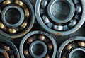 Several bearings for industrial design Royalty Free Stock Photo