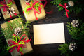 Several boxes of gifts