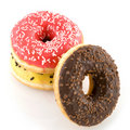 Several colored donuts Royalty Free Stock Photography