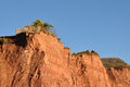 Severe Coastal Erosion on Jurassic Coast Royalty Free Stock Images