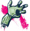 Severed hand halloween illustration Stock Photo