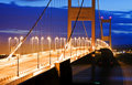 Severn Bridge Royalty Free Stock Photo
