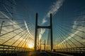 The Severn Bridge Royalty Free Stock Photo