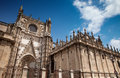 Sevilla cathedral historical of spain Stock Photo