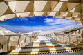 Sevilla spain june metropol parasol in plaza de la encarna encarnacion on j mayer h architects it is made from Royalty Free Stock Photography