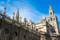 Seville cathedral la giralda in andalusia spain Stock Photos