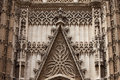Seville Cathedral Ornamentation Stock Images