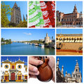 Seville collage Royalty Free Stock Photography