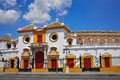 Seville Maestranza bullring plaza toros Sevilla Royalty Free Stock Photo