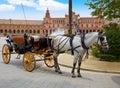 Seville Sevilla Plaza de Espana Andalusia Spain Royalty Free Stock Photo
