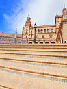 Seville, Spain - famous Plaza de Espana. Stock Photography