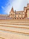 Seville, Spain - famous Plaza de Espana. Stock Photography