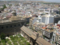 Seville view from high Royalty Free Stock Images