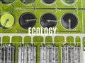 Sewage farm. Word Ecology. Royalty Free Stock Photo